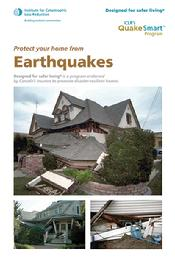 Protect your home from Earthquakes (PDF)