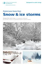Protect your home from Snow & ice storms