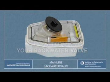 Video 1: ICLR basement flood maintenance series: Backwater valve maintenance